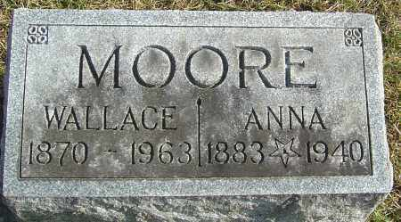 MOORE, ANNA - Franklin County, Ohio | ANNA MOORE - Ohio Gravestone Photos
