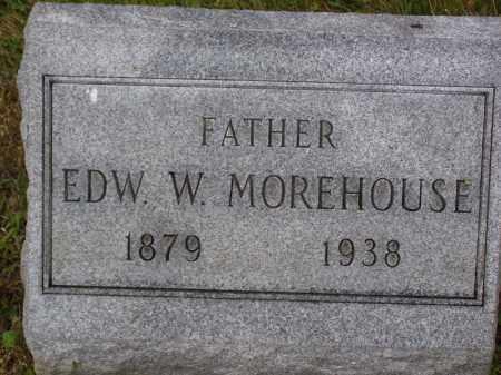 MOPREHOUSE, EDWARD W. - Franklin County, Ohio | EDWARD W. MOPREHOUSE - Ohio Gravestone Photos