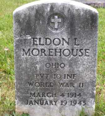 MOREHOUSE, ELDON L - Franklin County, Ohio | ELDON L MOREHOUSE - Ohio Gravestone Photos
