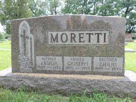 MORETTI, GIULIO - Franklin County, Ohio | GIULIO MORETTI - Ohio Gravestone Photos