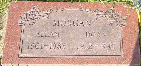 MORGAN, ALLAN - Franklin County, Ohio | ALLAN MORGAN - Ohio Gravestone Photos