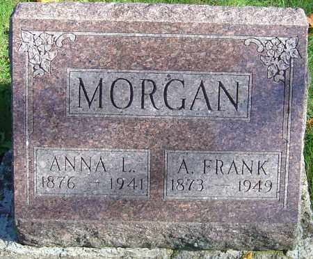 MORGAN, ALMON FRANK - Franklin County, Ohio | ALMON FRANK MORGAN - Ohio Gravestone Photos
