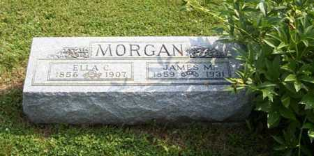 CLARK MORGAN, ELLA - Franklin County, Ohio | ELLA CLARK MORGAN - Ohio Gravestone Photos