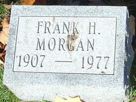 MORGAN, FRANK H - Franklin County, Ohio | FRANK H MORGAN - Ohio Gravestone Photos