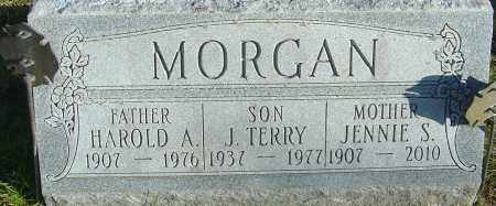 MORGAN, J. TERRY - Franklin County, Ohio | J. TERRY MORGAN - Ohio Gravestone Photos
