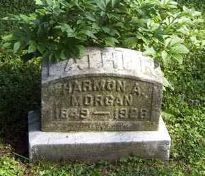 MORGAN, HARMON ASAPH - Franklin County, Ohio | HARMON ASAPH MORGAN - Ohio Gravestone Photos