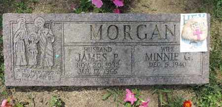 MORGAN, MINNE G. - Franklin County, Ohio | MINNE G. MORGAN - Ohio Gravestone Photos