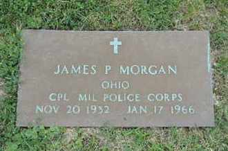 MORGAN, JAMES P - Franklin County, Ohio | JAMES P MORGAN - Ohio Gravestone Photos