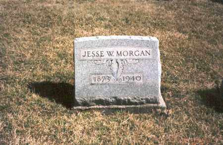 MORGAN, JESSE W. - Franklin County, Ohio | JESSE W. MORGAN - Ohio Gravestone Photos