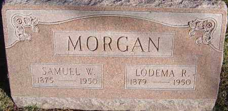 ASHER MORGAN, LODEMA ROSS - Franklin County, Ohio | LODEMA ROSS ASHER MORGAN - Ohio Gravestone Photos