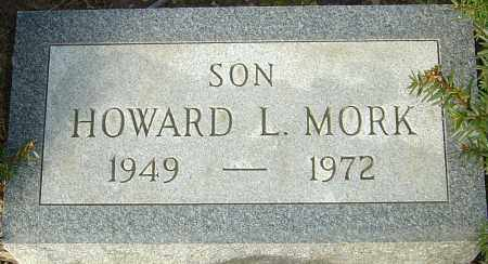 MORK, HOWARD L - Franklin County, Ohio | HOWARD L MORK - Ohio Gravestone Photos