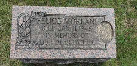 MORLANI, FELICE - Franklin County, Ohio | FELICE MORLANI - Ohio Gravestone Photos