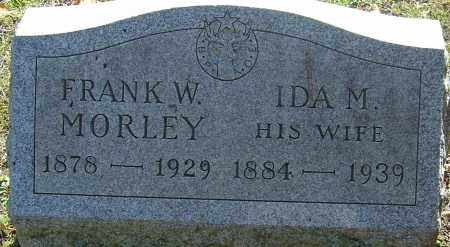 MORLEY, IDA - Franklin County, Ohio | IDA MORLEY - Ohio Gravestone Photos