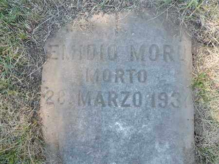 MORO, EMIDIO - Franklin County, Ohio | EMIDIO MORO - Ohio Gravestone Photos