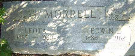 MORRELL, EDWIN L - Franklin County, Ohio | EDWIN L MORRELL - Ohio Gravestone Photos