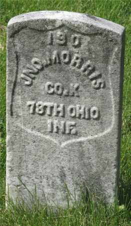 MORRIS, JNO. - Franklin County, Ohio | JNO. MORRIS - Ohio Gravestone Photos