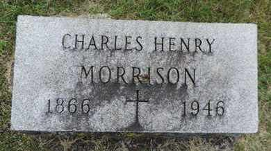 MORRISON, CHARLES HENRY - Franklin County, Ohio | CHARLES HENRY MORRISON - Ohio Gravestone Photos