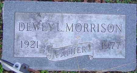 MORRISON, DEWEY - Franklin County, Ohio | DEWEY MORRISON - Ohio Gravestone Photos