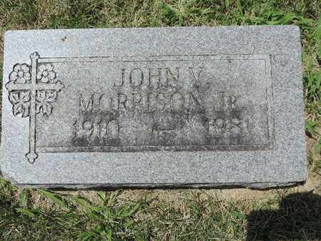 MORRISON, JOHN V. JR - Franklin County, Ohio | JOHN V. JR MORRISON - Ohio Gravestone Photos