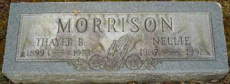 MORRISON, THAYER B - Franklin County, Ohio | THAYER B MORRISON - Ohio Gravestone Photos
