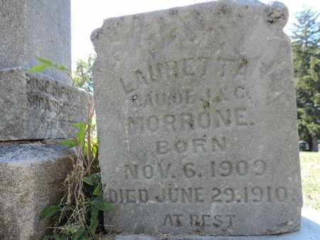 MORRONE, LAURETTA - Franklin County, Ohio | LAURETTA MORRONE - Ohio Gravestone Photos