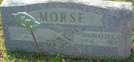 MORSE, DONALD G - Franklin County, Ohio | DONALD G MORSE - Ohio Gravestone Photos