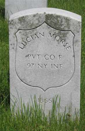 MORSE, LUCIAN - Franklin County, Ohio | LUCIAN MORSE - Ohio Gravestone Photos