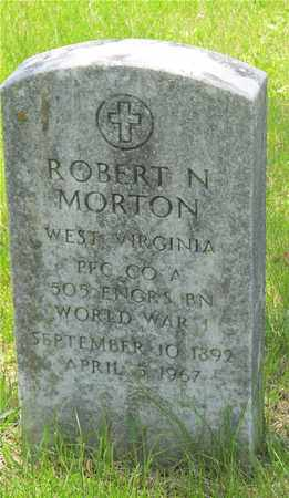 MORTON, ROBERT N. - Franklin County, Ohio | ROBERT N. MORTON - Ohio Gravestone Photos