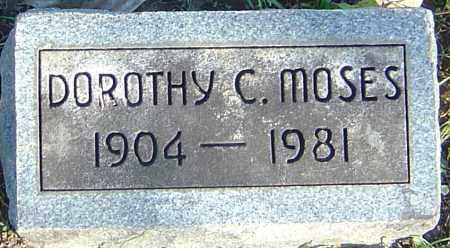 MOSES, DOROTHY C - Franklin County, Ohio | DOROTHY C MOSES - Ohio Gravestone Photos