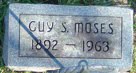 MOSES, GUY S - Franklin County, Ohio | GUY S MOSES - Ohio Gravestone Photos