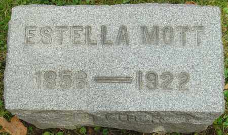 MOTT, ESTELLA - Franklin County, Ohio | ESTELLA MOTT - Ohio Gravestone Photos