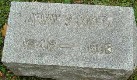 MOTT, JOHN SCOBY - Franklin County, Ohio | JOHN SCOBY MOTT - Ohio Gravestone Photos