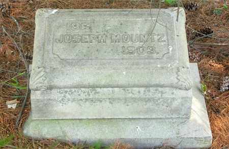 MOUNTZ, JOSEPH - Franklin County, Ohio | JOSEPH MOUNTZ - Ohio Gravestone Photos