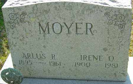 MOYER, ARLUS R - Franklin County, Ohio | ARLUS R MOYER - Ohio Gravestone Photos