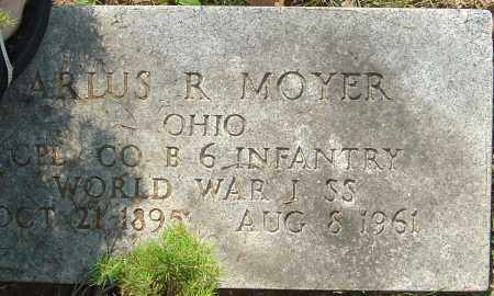 MOYER, MARLUS R - Franklin County, Ohio | MARLUS R MOYER - Ohio Gravestone Photos