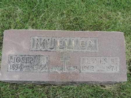 MUELLER, JOSEPH E. - Franklin County, Ohio | JOSEPH E. MUELLER - Ohio Gravestone Photos