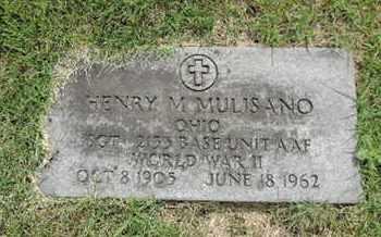 MULISANO, HENRY M. - Franklin County, Ohio | HENRY M. MULISANO - Ohio Gravestone Photos