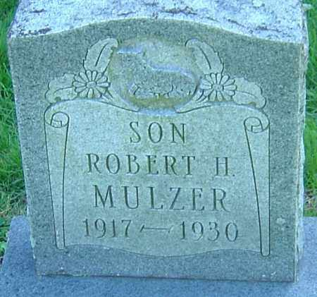 MULZER, ROBERT H - Franklin County, Ohio | ROBERT H MULZER - Ohio Gravestone Photos