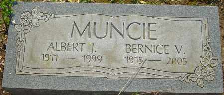 MUNCIE, ALBERT J - Franklin County, Ohio | ALBERT J MUNCIE - Ohio Gravestone Photos