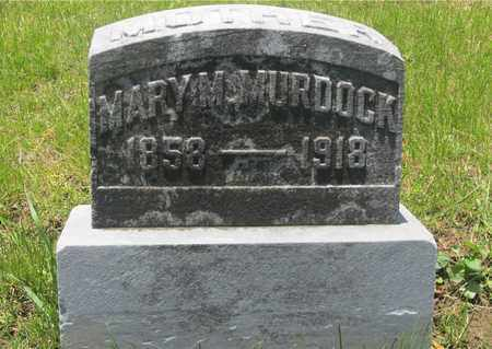 MURDOCK, MARY M. - Franklin County, Ohio | MARY M. MURDOCK - Ohio Gravestone Photos