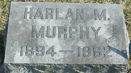 MURPHY, HARLAN M - Franklin County, Ohio | HARLAN M MURPHY - Ohio Gravestone Photos