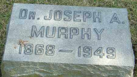 MURPHY, JOSEPH A - Franklin County, Ohio | JOSEPH A MURPHY - Ohio Gravestone Photos