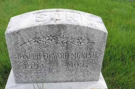 MURPHY, JOSEPH EDWARD - Franklin County, Ohio | JOSEPH EDWARD MURPHY - Ohio Gravestone Photos