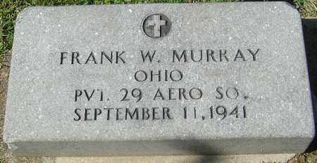 MURRAY, FRANK W - Franklin County, Ohio | FRANK W MURRAY - Ohio Gravestone Photos