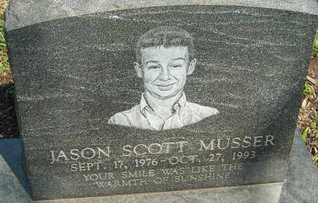 MUSSER, JASON SCOTT - Franklin County, Ohio | JASON SCOTT MUSSER - Ohio Gravestone Photos