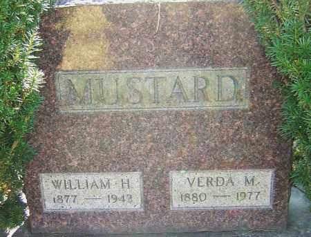 MUSTARD, VERDA - Franklin County, Ohio | VERDA MUSTARD - Ohio Gravestone Photos