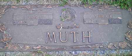 MUTH, VERA - Franklin County, Ohio | VERA MUTH - Ohio Gravestone Photos