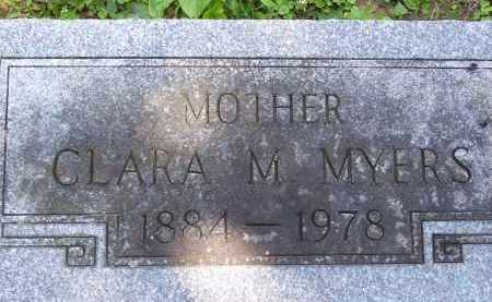 MYERS, CLARA - Franklin County, Ohio | CLARA MYERS - Ohio Gravestone Photos