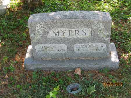 MYERS, ELIZABETH K - Franklin County, Ohio | ELIZABETH K MYERS - Ohio Gravestone Photos