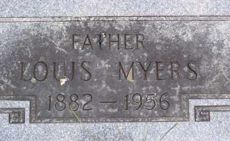 MYERS, LOUIS - Franklin County, Ohio | LOUIS MYERS - Ohio Gravestone Photos